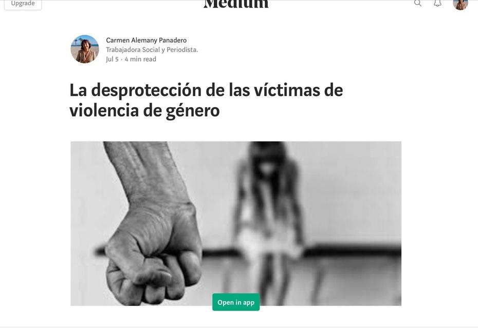 La desprotección de las víctimas de violencia de género