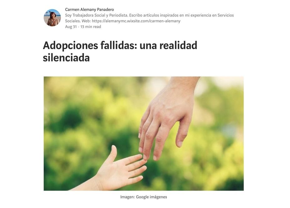 Adopciones fallidas. Una realidad silenciada