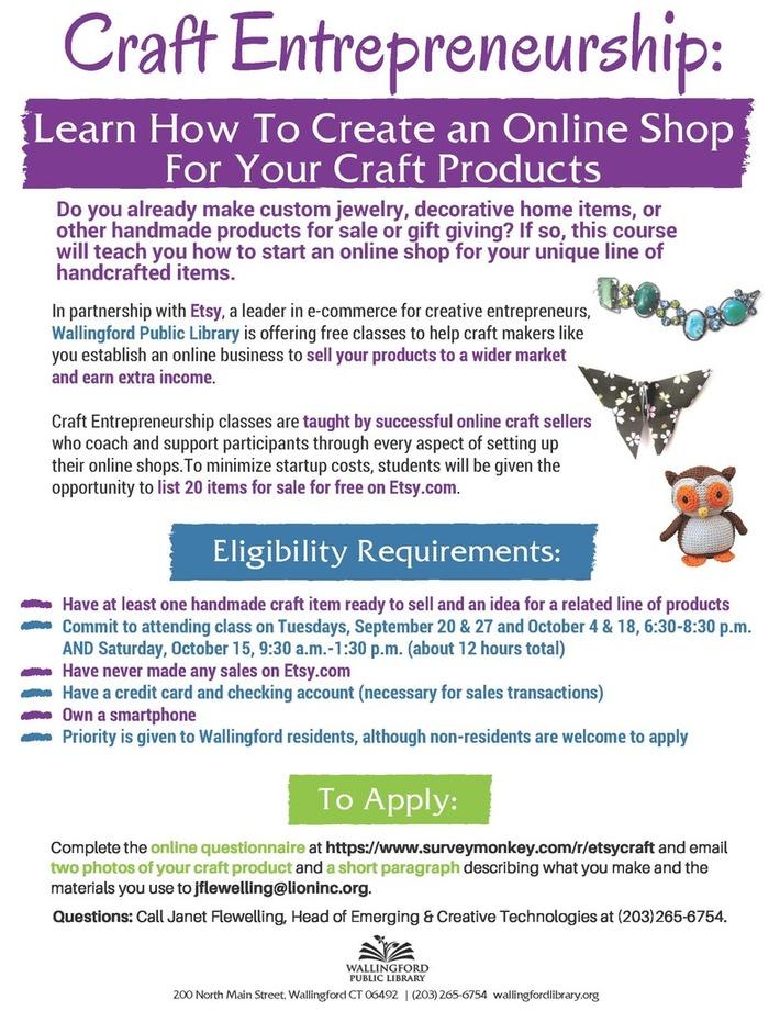 Craft Entrepreneurship