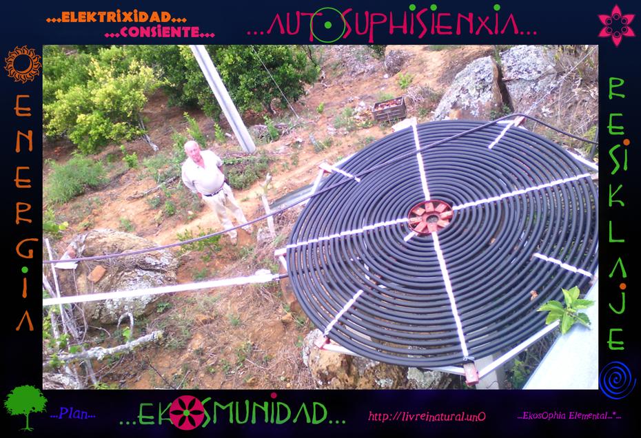 ...El Calentador Solar Artesanal ...O.. (3)