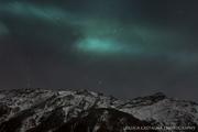 Aurora boreale...in Valle d'Aosta