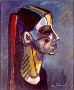 Malerei von Herbert Rösler (1924-2006)