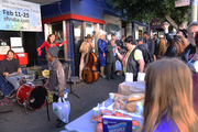 Busking for the homeless at SF Indiefests