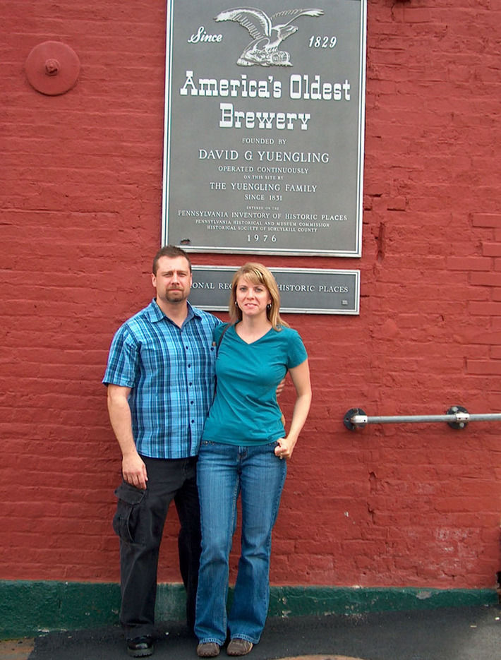 Yuengling Brewery Pottsville, Pa.