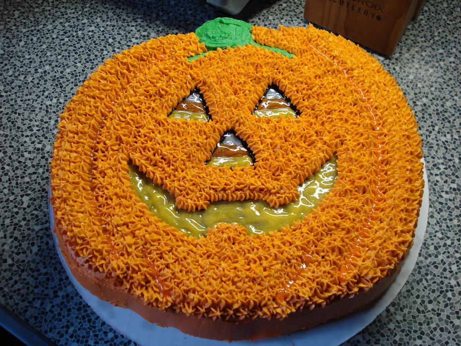 Brownie Pumpkin 10-30-09