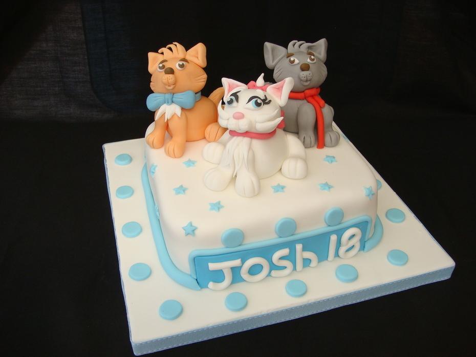 Aristocats Birthday Cake