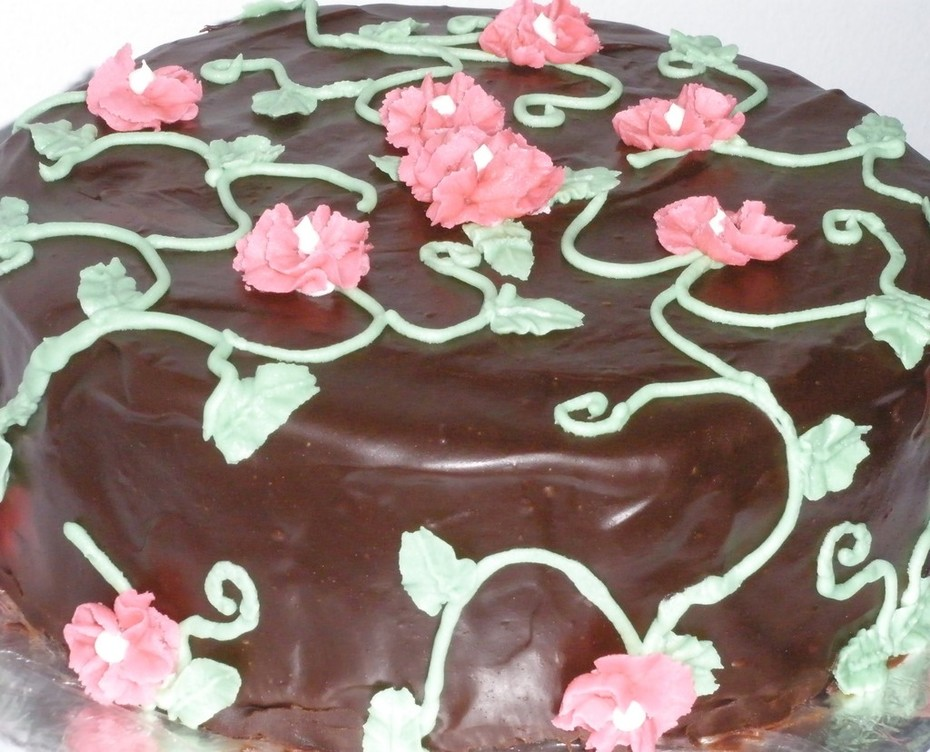 Chocolate Contest - Floral Cake