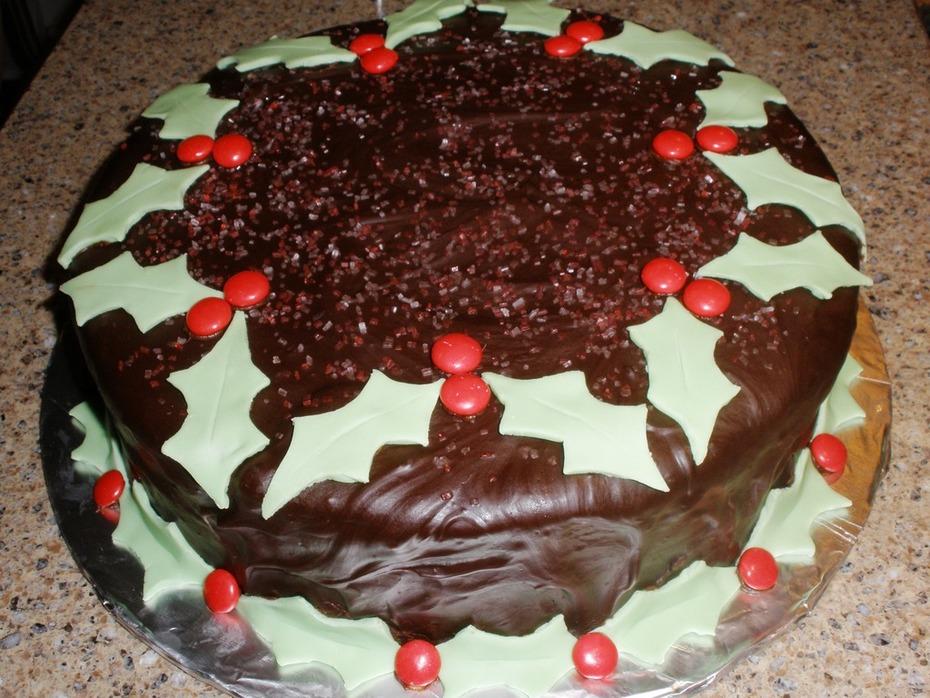Chocolate Contest - Holiday Cake