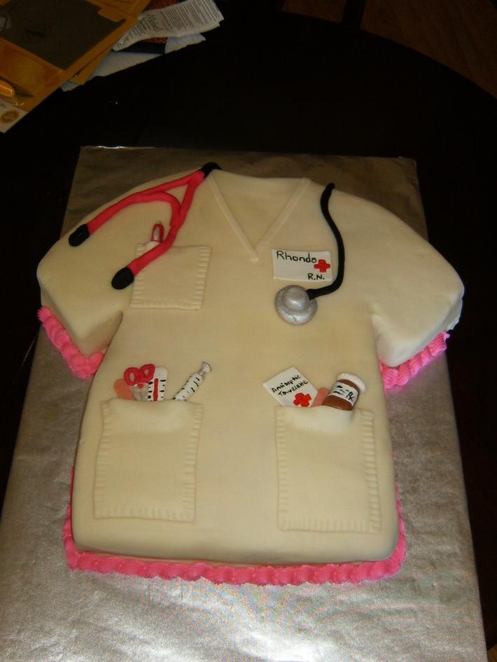 Nursing School Graduation Cake Cake Decorating Community