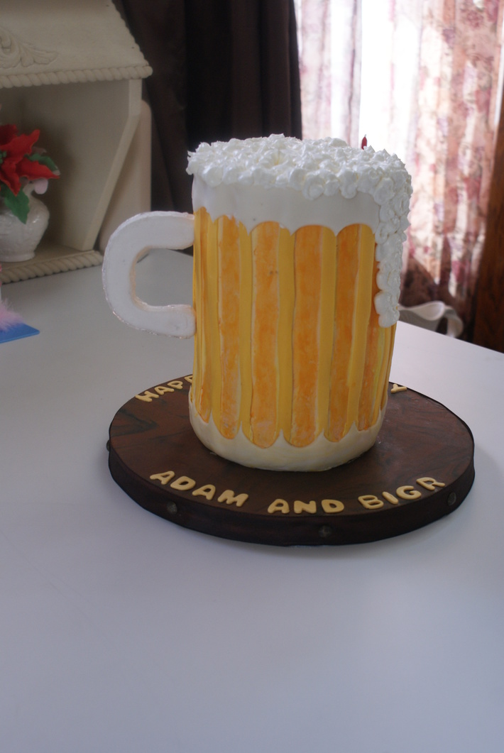 beer mug cake 002
