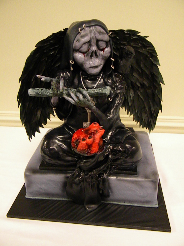 Angel of Death Cake