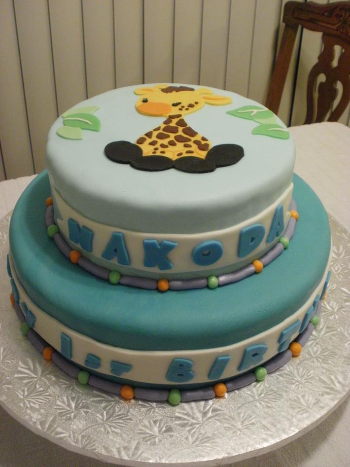 Giraffe Cake side view