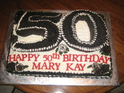 59th Birthday Party cake