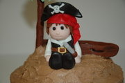 Pirate Fondant Figure