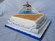 Catch the waves cake - Beach cake contest