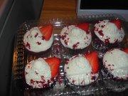 red velvet cream cheese cupcakes