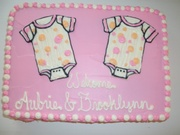 A Welcome Cake for the Twins