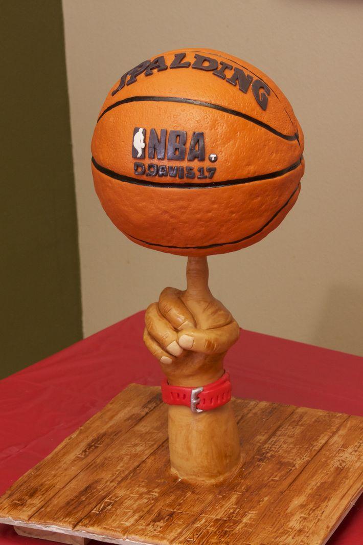 basketball cake - 625F