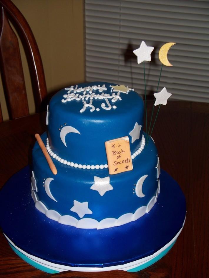 Wizard Birthday Cake