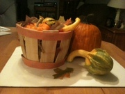 Fall Harvest Basket - 1025f