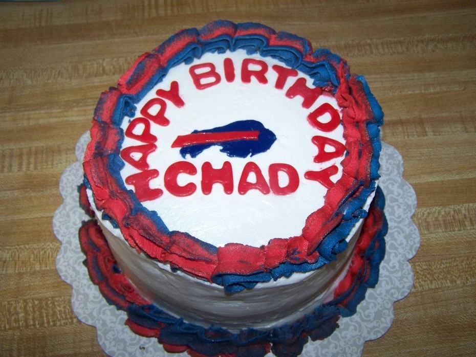 Buffalo Bills Birthday Cake