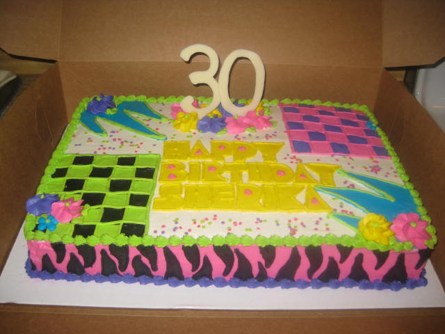 Phenomenal 80S Birthday Cake Cake Decorating Community Cakes We Bake Birthday Cards Printable Riciscafe Filternl