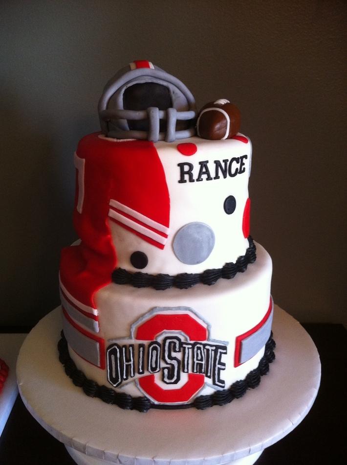 Ohio State Football Cake