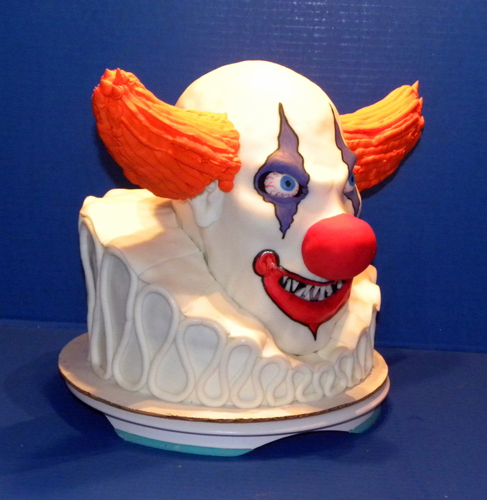 Evil Clown Cake