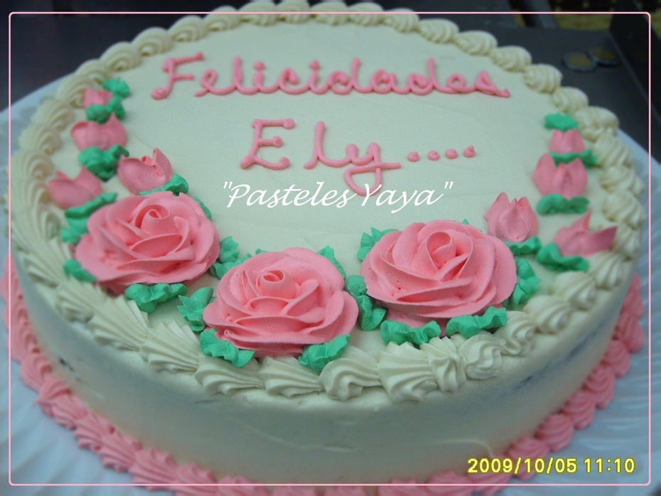 Birthday cake,.-