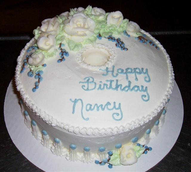 Amazing Happy Birthday Nancy Cake Decorating Community Cakes We Bake Funny Birthday Cards Online Overcheapnameinfo
