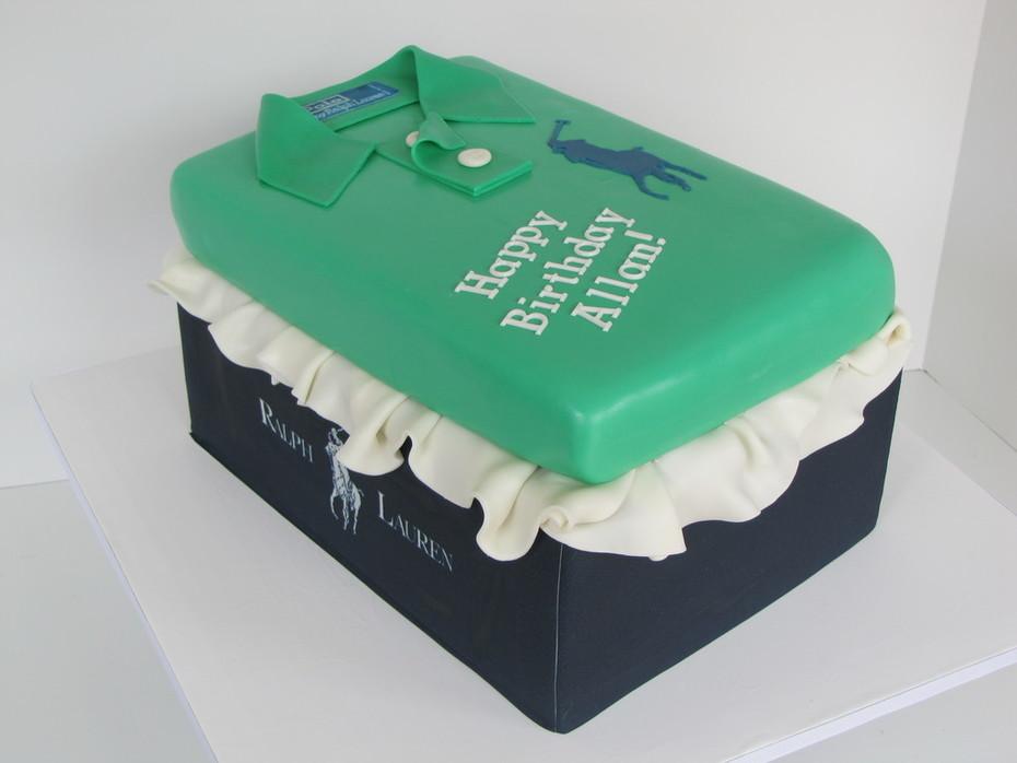 Ralph Lauren Polo birthday cake - 407F