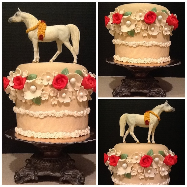 Kentucky Derby Party Cake