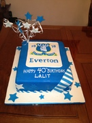 Everton birthday cake