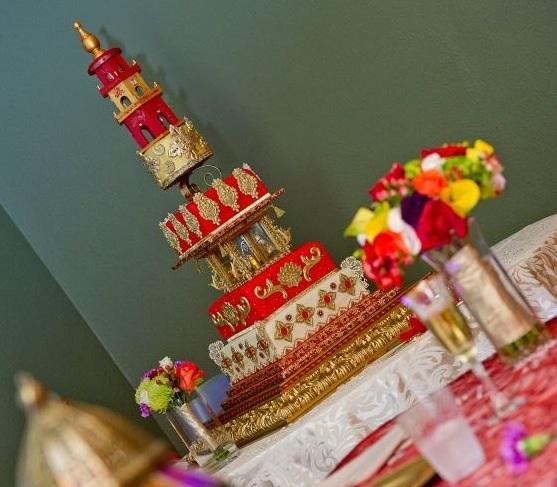 Moroccan Wedding Cake! 828F