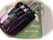 Happy Retirement Golf Cake