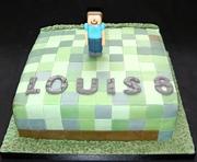 Mine Craft Birthday Cake for Louis