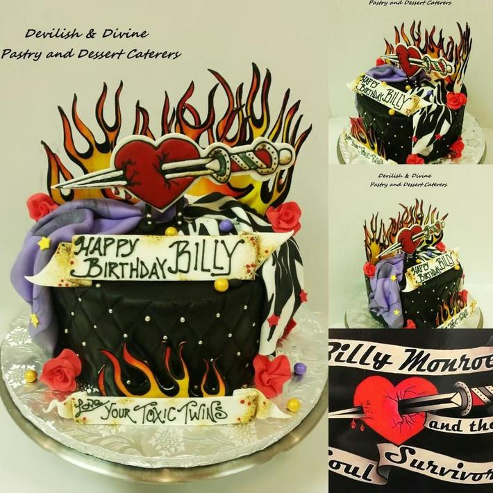 Rock Band Cake