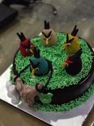 angry bird cake theme