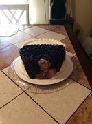 Afro Diva Woman Cake