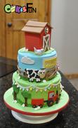 Farm Cake / cupcake toppers