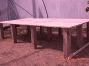 gb construction, salvaged sheet's of plywood, 15 euro a piece, legs free