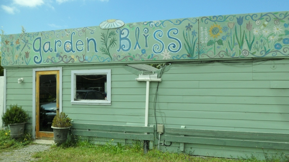 Front of Garden Bliss