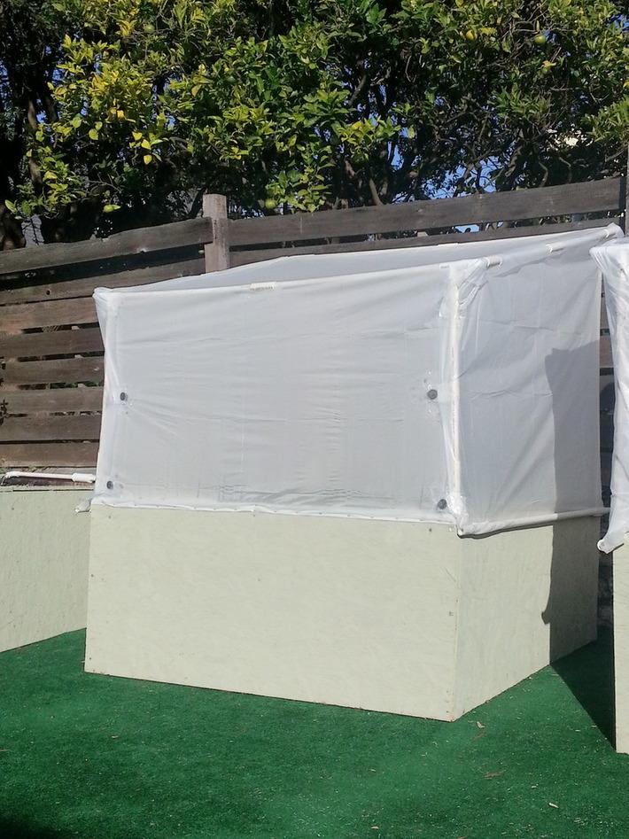 my $35 pvc greenhouse