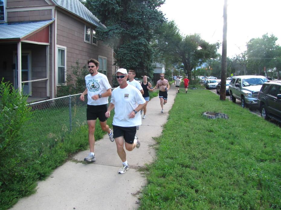 Jack Quinn's Run, Aug. 10