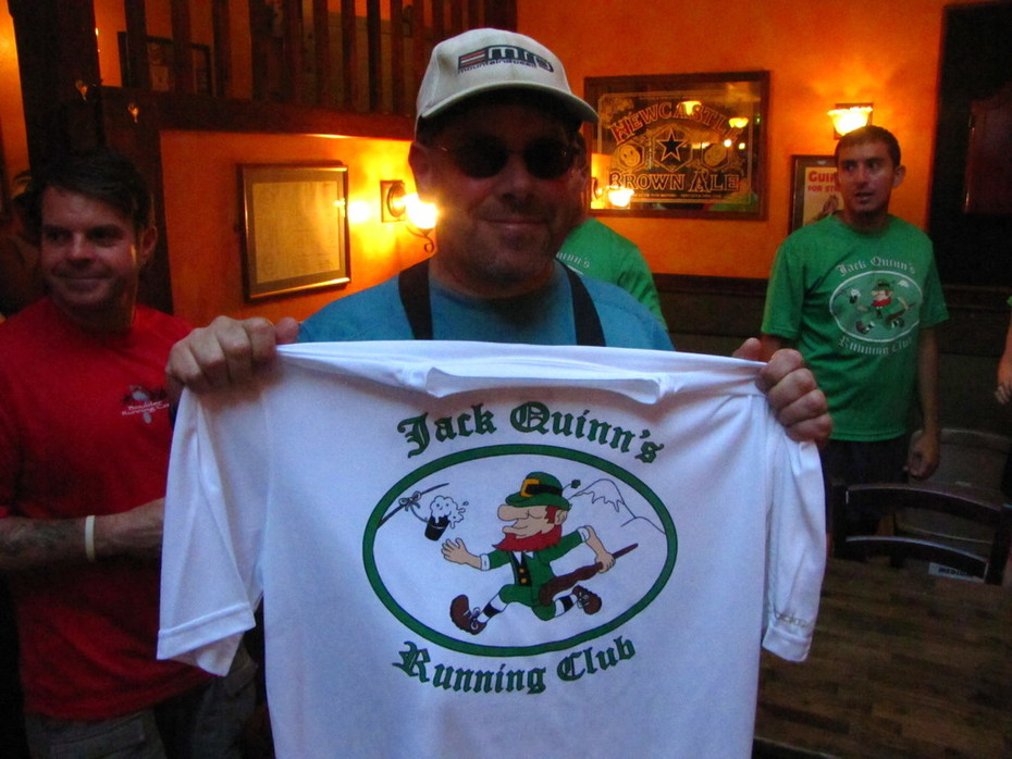 Jack Quinn's Run, Aug. 31