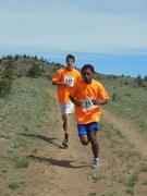 Custer County Bobcats runners