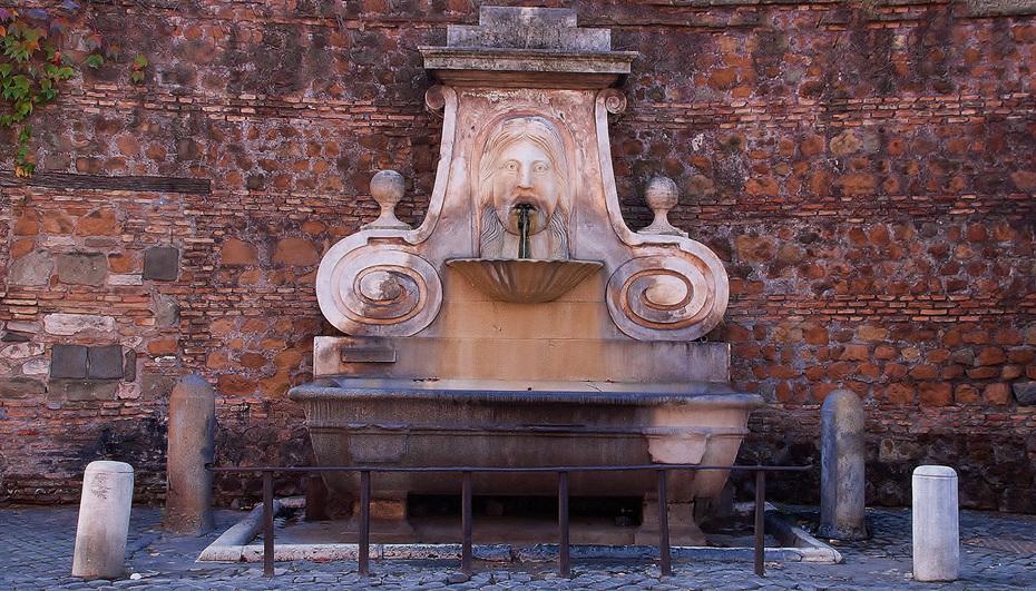 la fontana del mascherone