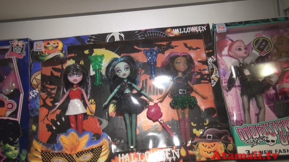 """Scary Girl"" Fail Dolls Hong Kong Toy Fair"