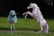 Twyla and horse