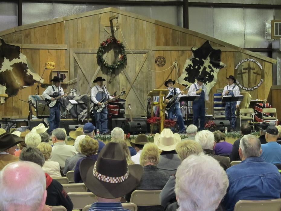 Baggy Bottom Boys @ Triple Cross Cowboy Church